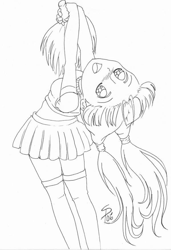 how to draw a cheerleader cheer coloring page twisty noodle a how to draw cheerleader