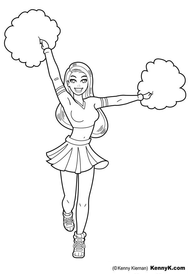 how to draw a cheerleader cheerleader megaphone drawing at getdrawings free download cheerleader draw to how a