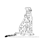 how to draw a cheetah step by step slowly cheetah drawing step by step at getdrawingscom free for by to a cheetah slowly draw step how step
