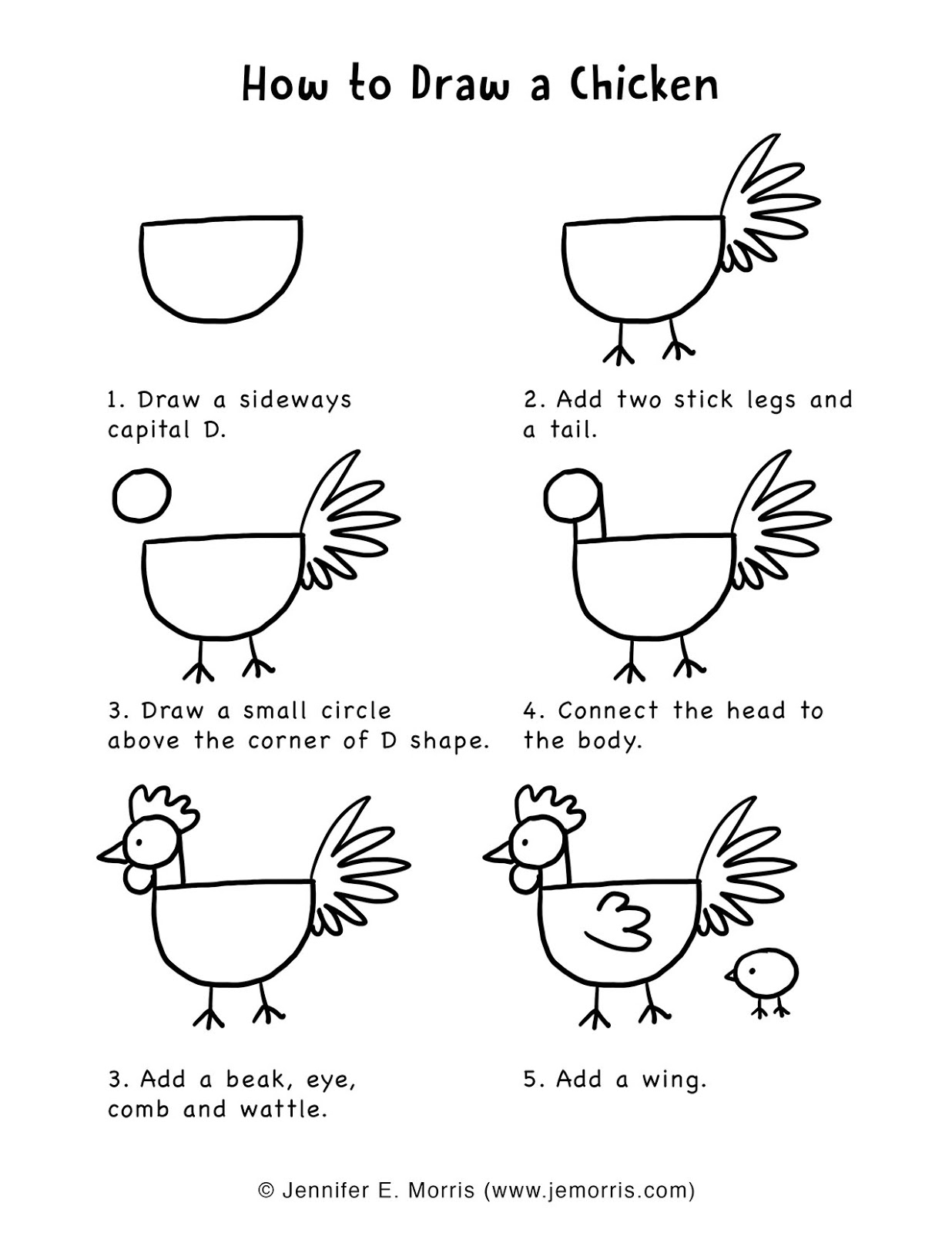 how to draw a chick how to draw a chicken outline step by step chicken a chick draw how to