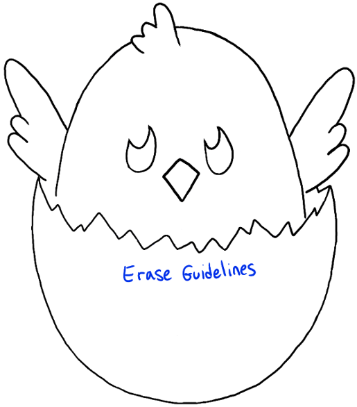 how to draw a chick how to draw chicks drawing cartoon baby chicks in easy a how draw chick to