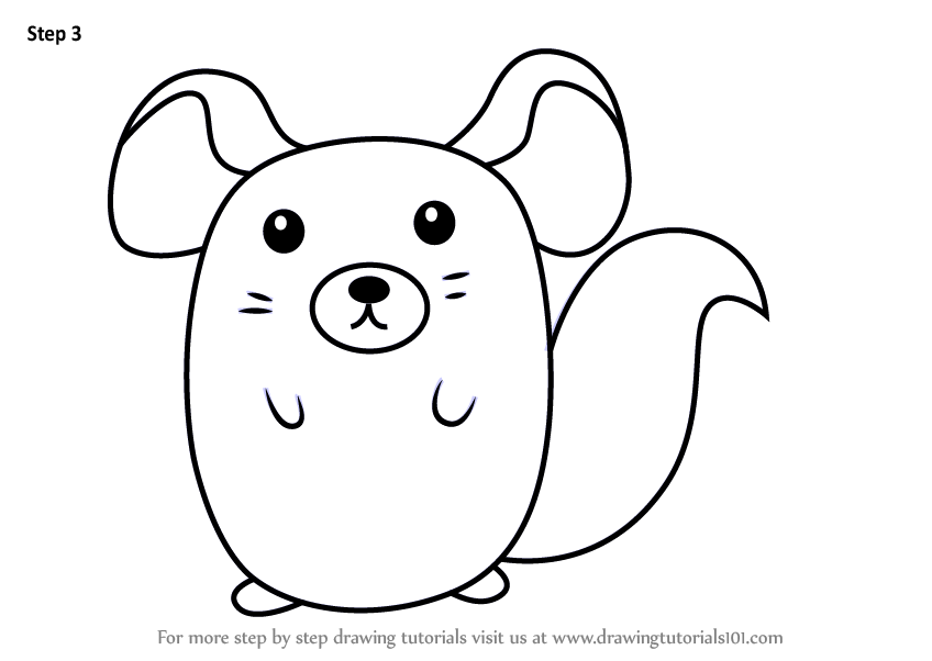 how to draw a chinchilla step by step drawing tutorials tags australian animals coloring pages to step chinchilla step draw by how a