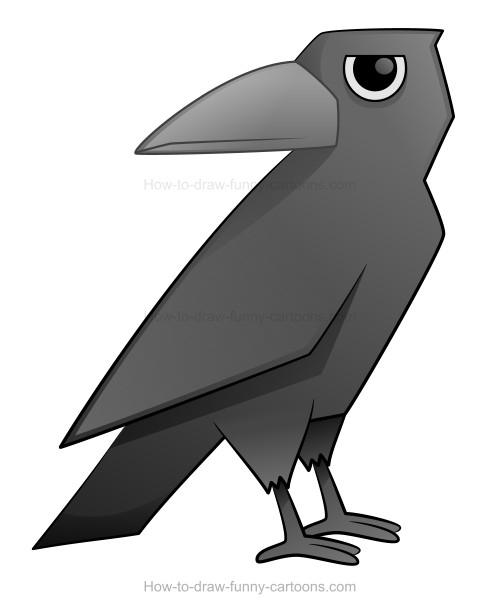 how to draw a crow how to draw a cool crow tattoo step by step birds draw crow to how a