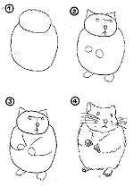 how to draw a dwarf hamster storyrhyme fun stuff stuff to make a hamster draw dwarf how to