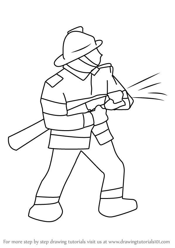 how to draw a fireman 17 best images about thema 112 on pinterest fireman fireman draw a to how