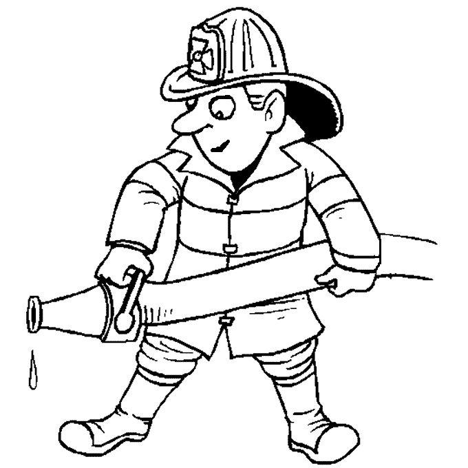 how to draw a fireman fire fighter drawing at getdrawings free download fireman how a to draw