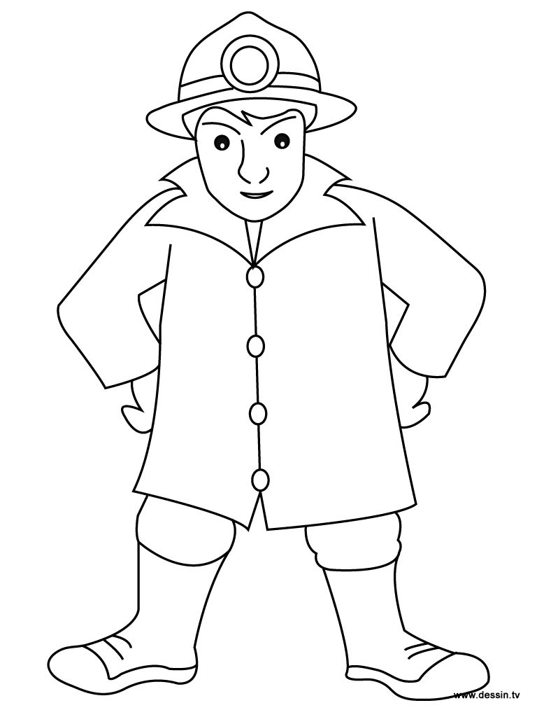 how to draw a fireman firefighter coloring pages free printable firefighter a to draw fireman how