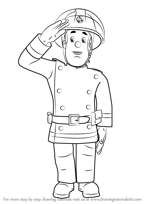 how to draw a fireman fireman 2 coloring page a how fireman draw to
