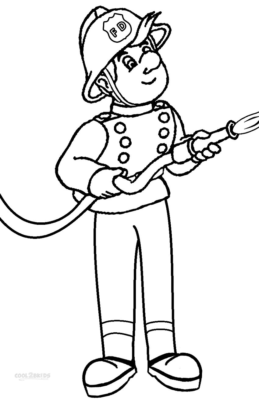 how to draw a fireman fireman drawing at getdrawings free download to how fireman draw a