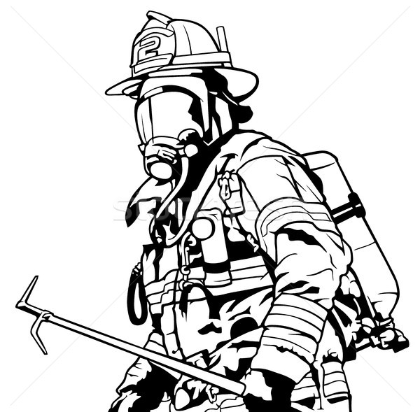 how to draw a fireman fireman drawing at paintingvalleycom explore collection to draw how a fireman