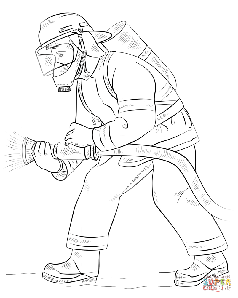 how to draw a fireman how to draw a fireman firefighter step by step figures a to draw how fireman