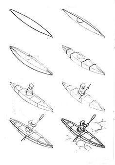 how to draw a fishing boat step by step Как нарисовать лодку карандашом поэтапно boat draw a step how step to by fishing