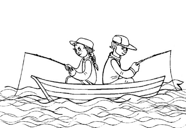 how to draw a fishing boat step by step boat on water drawing at getdrawings free download a how draw by to boat step step fishing