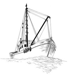 how to draw a fishing boat step by step how to draw a boat in a few easy steps easy drawing boat step draw a step how fishing by to