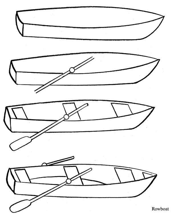 how to draw a fishing boat step by step how to draw a fishing boat step by step fishing draw step boat to how step a by