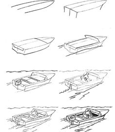 how to draw a fishing boat step by step step by step how to draw a fishing boat how to draw a a to draw how by fishing step step boat