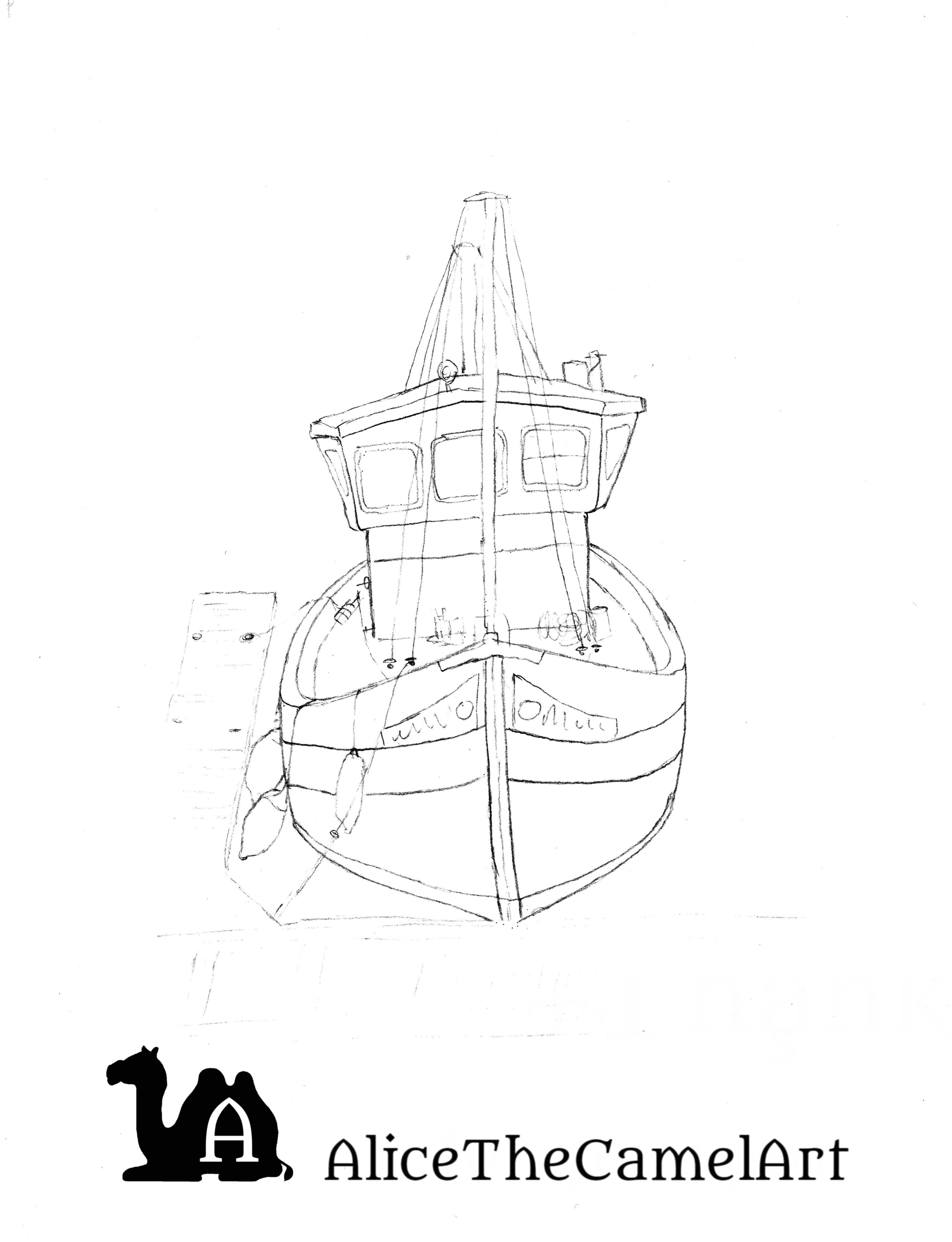 how to draw a fishing boat step by step step by step how to draw a fishing boat how to draw a how step to a boat fishing by step draw