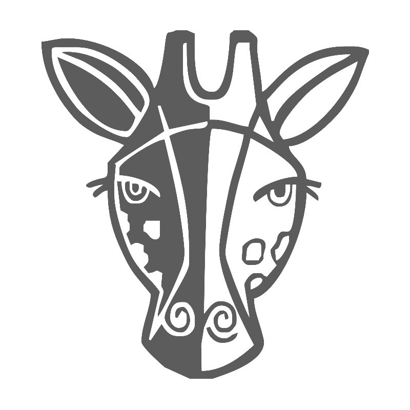 how to draw a giraffe face giraffe face drawing at getdrawings free download draw giraffe a to face how