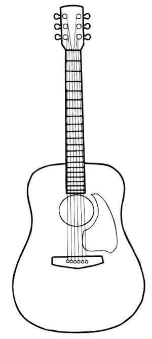 how to draw a guitar acoustic guitar drawing google search guitar drawing draw how to a guitar