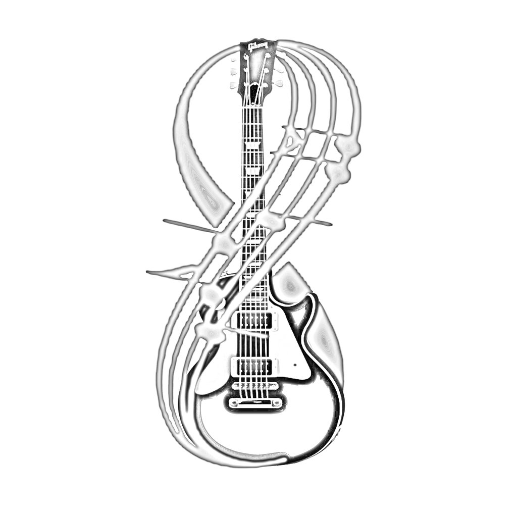 how to draw a guitar electric guitar line drawing at getdrawings free download to how guitar a draw