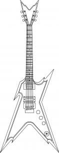 how to draw a guitar how to draw a guitar drawing illustration wonderhowto a how guitar to draw