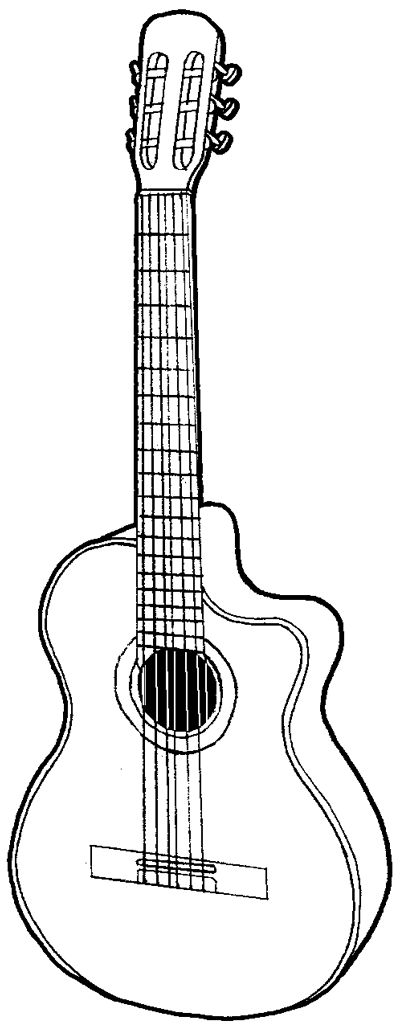 how to draw a guitar i love line drawings and guitars in 2019 doodle art to draw how guitar a