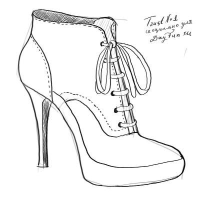 how to draw a heel step by step high heels drawing free download on clipartmag a step step heel how to draw by