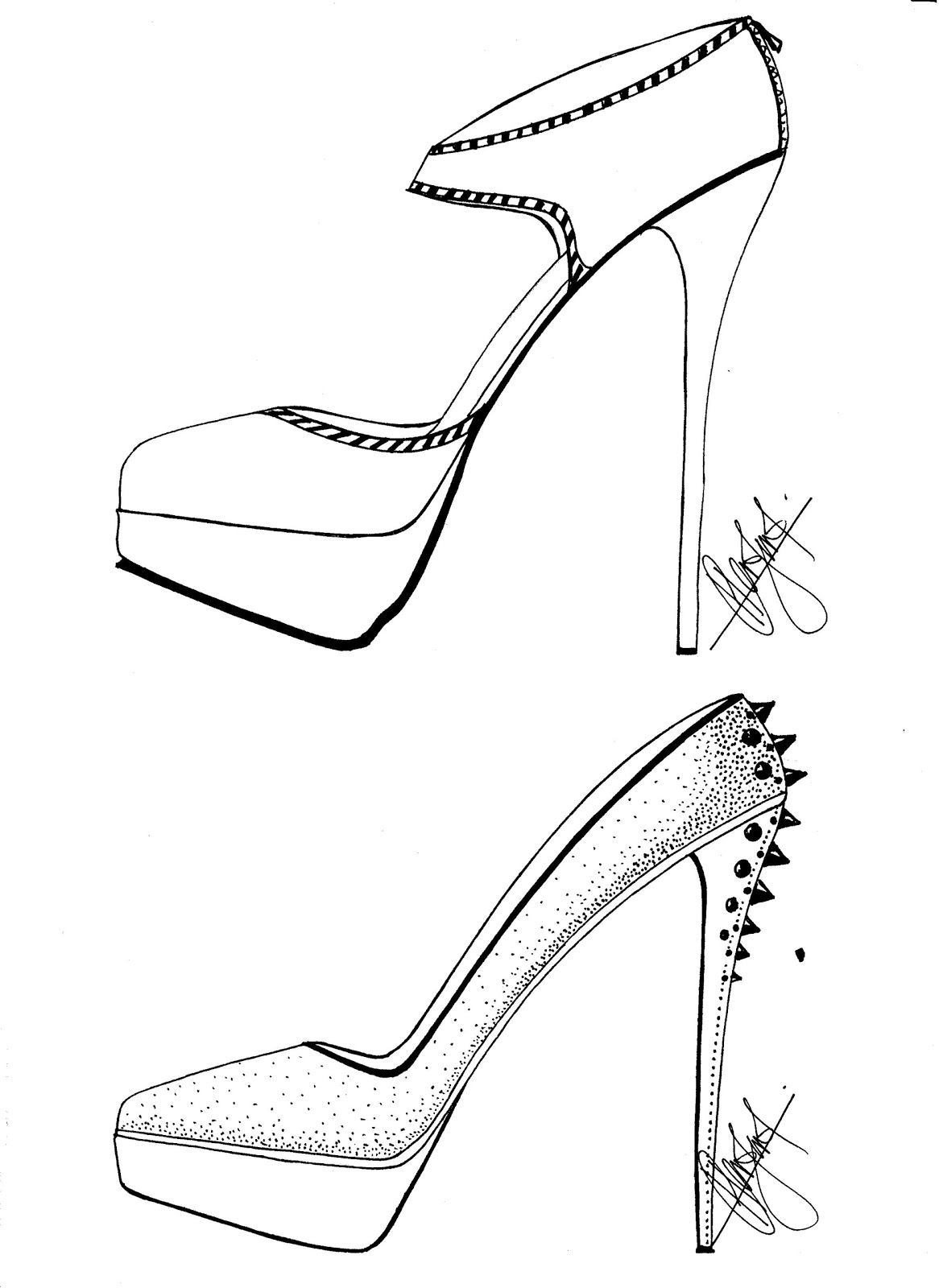 how to draw a heel step by step high heels sketches draw step to heel by step how a