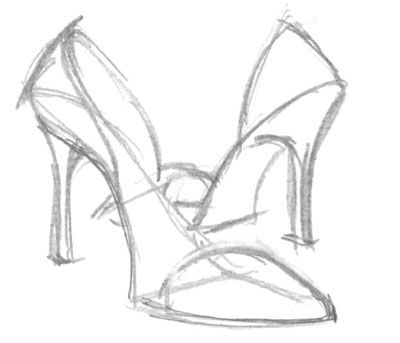 how to draw a heel step by step hills shoes drawing gallery to step step draw how a by heel