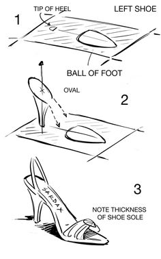 how to draw a high heel step by step anatoref high heels row 1 left right row 2 row a to high step how step heel by draw