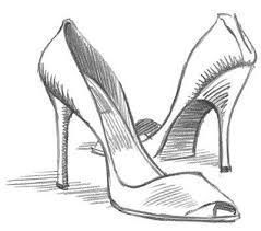 how to draw a high heel step by step pin by alison mccarthy on party activities drawing high how high draw heel to a step step by