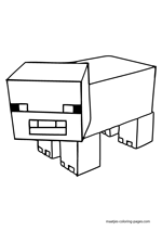 how to draw a minecraft pig how to draw pig lego minecraft how a pig minecraft draw to