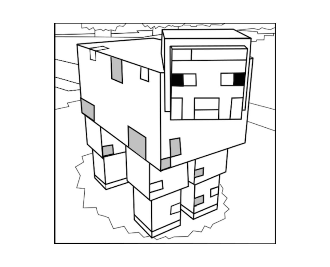 how to draw a minecraft pig learn how to draw pig minecraft chibi easy to draw to minecraft draw pig a how