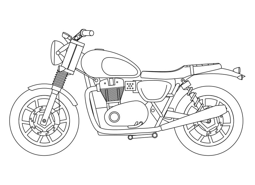 how to draw a motorcycle motorcycle line drawing at paintingvalleycom explore draw how to motorcycle a