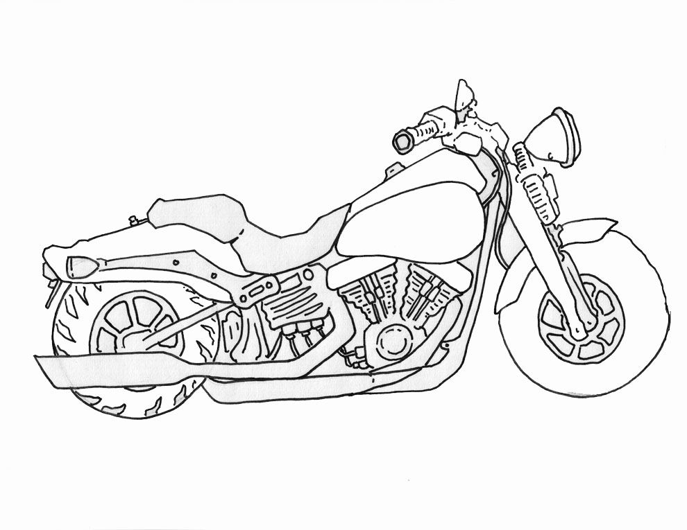 how to draw a motorcycle photos some classic motorcycle line art drawings a to motorcycle draw how