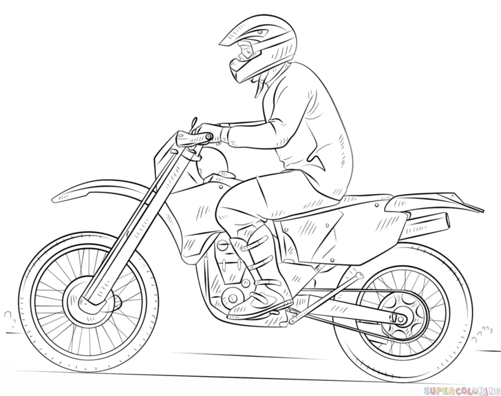 how to draw a motorcycle pin on faiz to how a motorcycle draw
