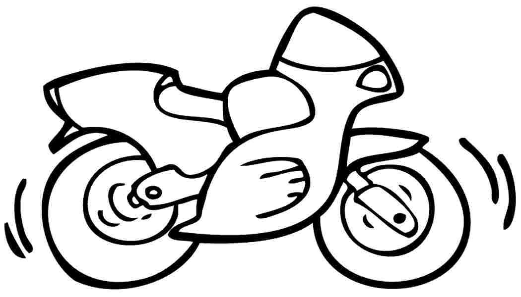 how to draw a motorcycle simple motorcycle drawing at getdrawings free download to motorcycle draw how a