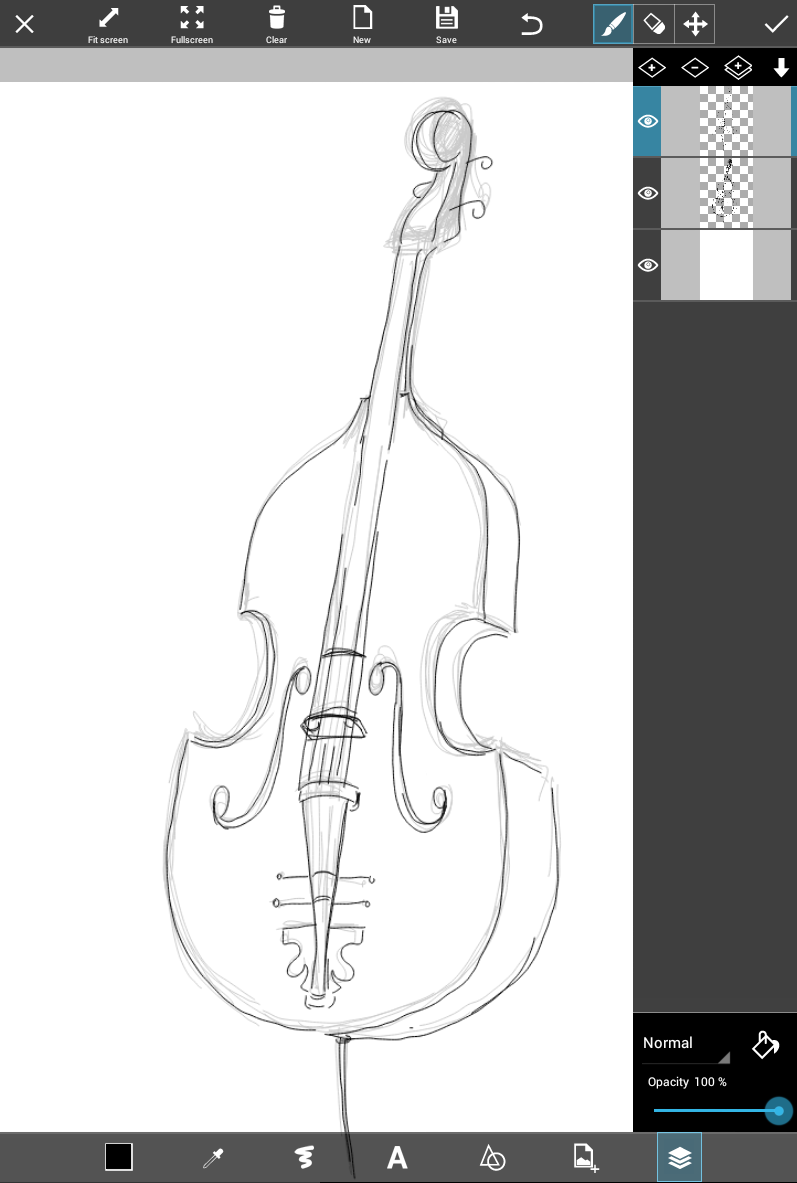how to draw a musical instrument 9 easy steps to draw a musical instrument using picsart a how to draw musical instrument