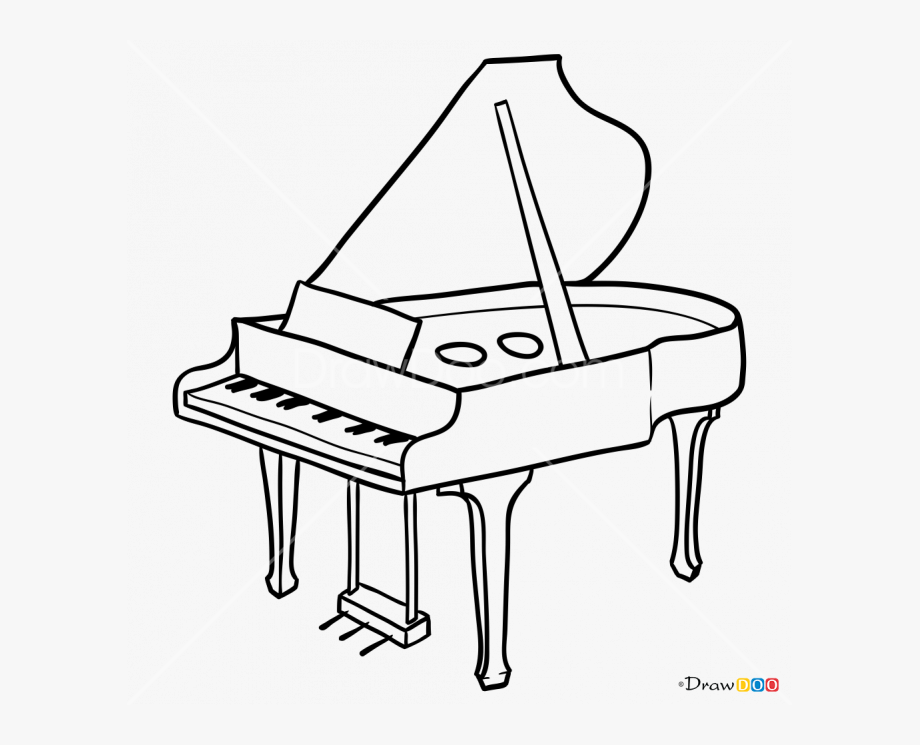 how to draw a musical instrument how to draw musical instruments piano drawing to draw how a instrument musical