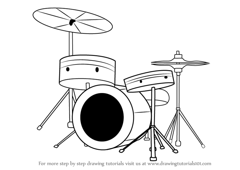 how to draw a musical instrument musical instrument drawing at getdrawings free download how to musical draw instrument a