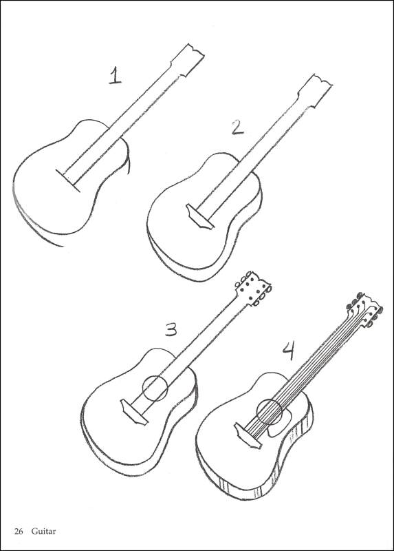 how to draw a musical instrument musical instrument drawing at getdrawings free download instrument musical how a draw to