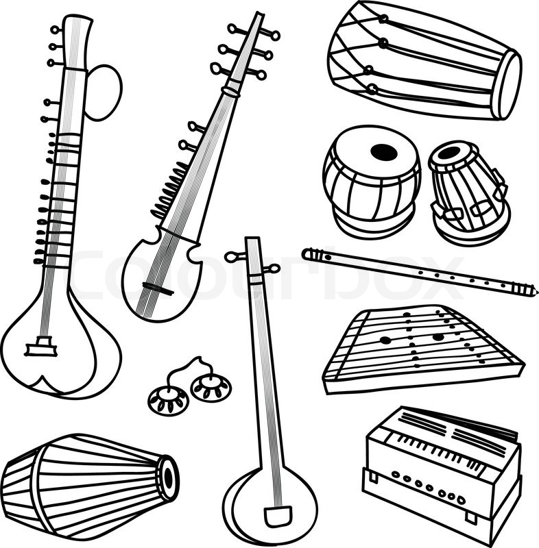 how to draw a musical instrument musical instruments drawing at getdrawings free download instrument how musical a draw to