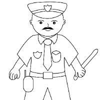 how to draw a police dog coloring draw dog a police how to