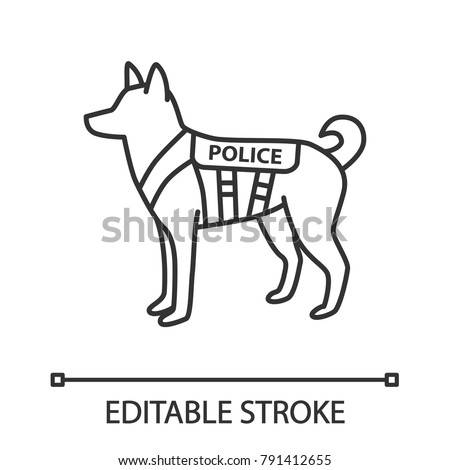how to draw a police dog k9 stock images royalty free images vectors shutterstock to a dog how police draw