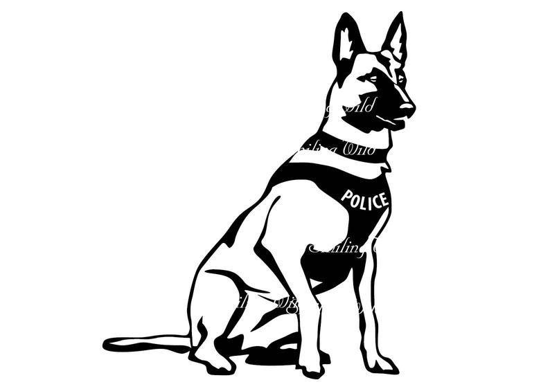 how to draw a police dog police dog drawing free download on clipartmag police draw to how a dog