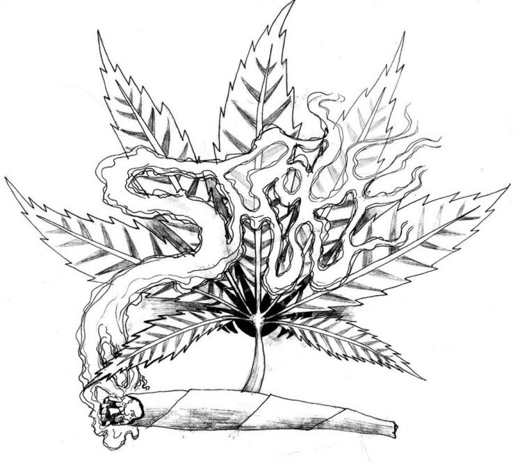 how to draw a pot leaf step by step easy marijuana leaf drawing step by step at getdrawings free step to step draw by a pot easy leaf how