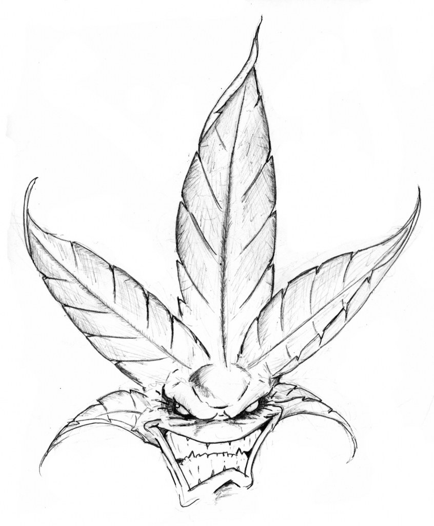 how to draw a pot leaf step by step easy weed leaf drawing step by step at getdrawings free download step step leaf draw pot easy a by to how
