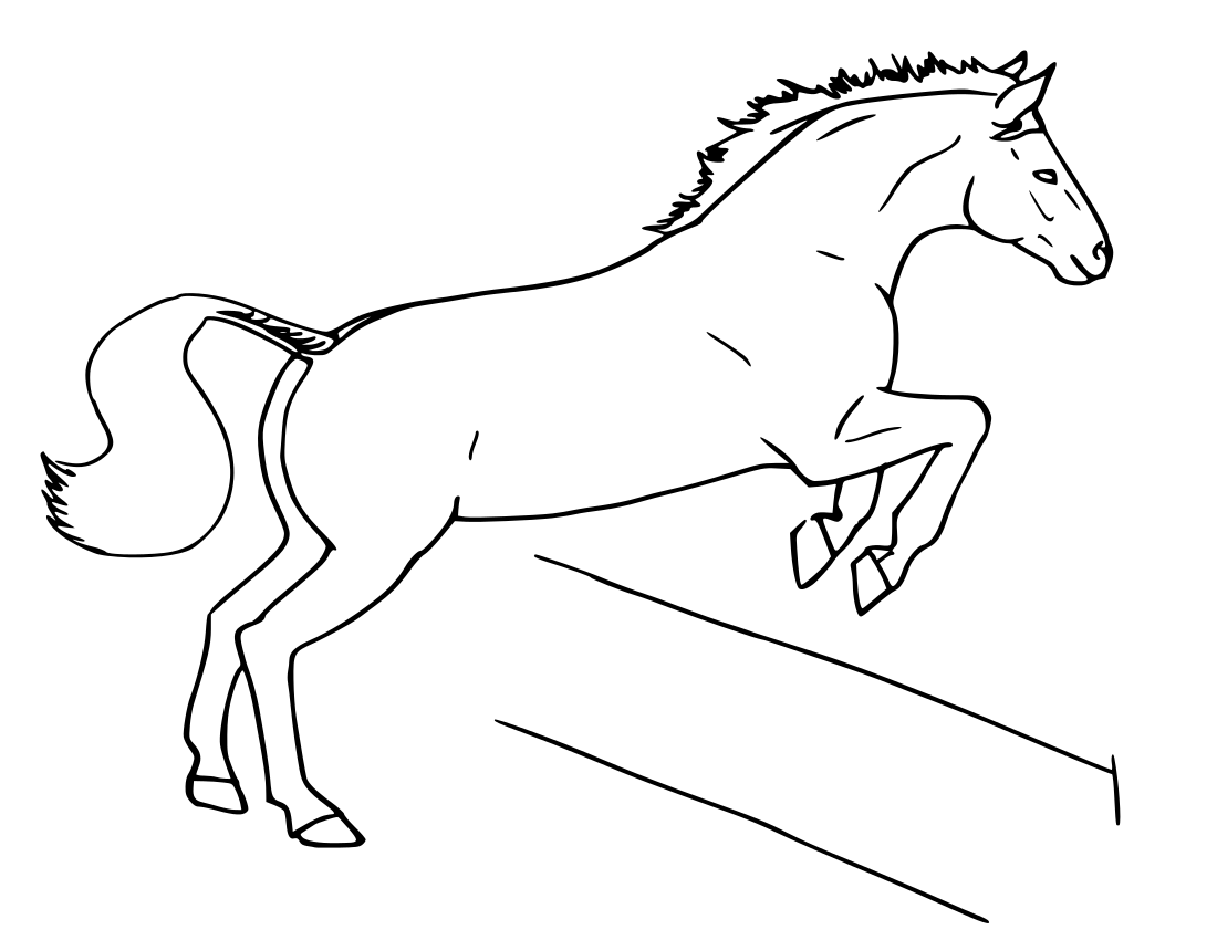 how to draw a realistic horse jumping how to draw a jumping horse easy horse drawing horse jumping a draw to horse how realistic