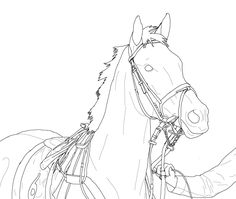 how to draw a realistic horse jumping lineart harley quinn showjumping by xxtorchwood on deviantart jumping how draw realistic a to horse