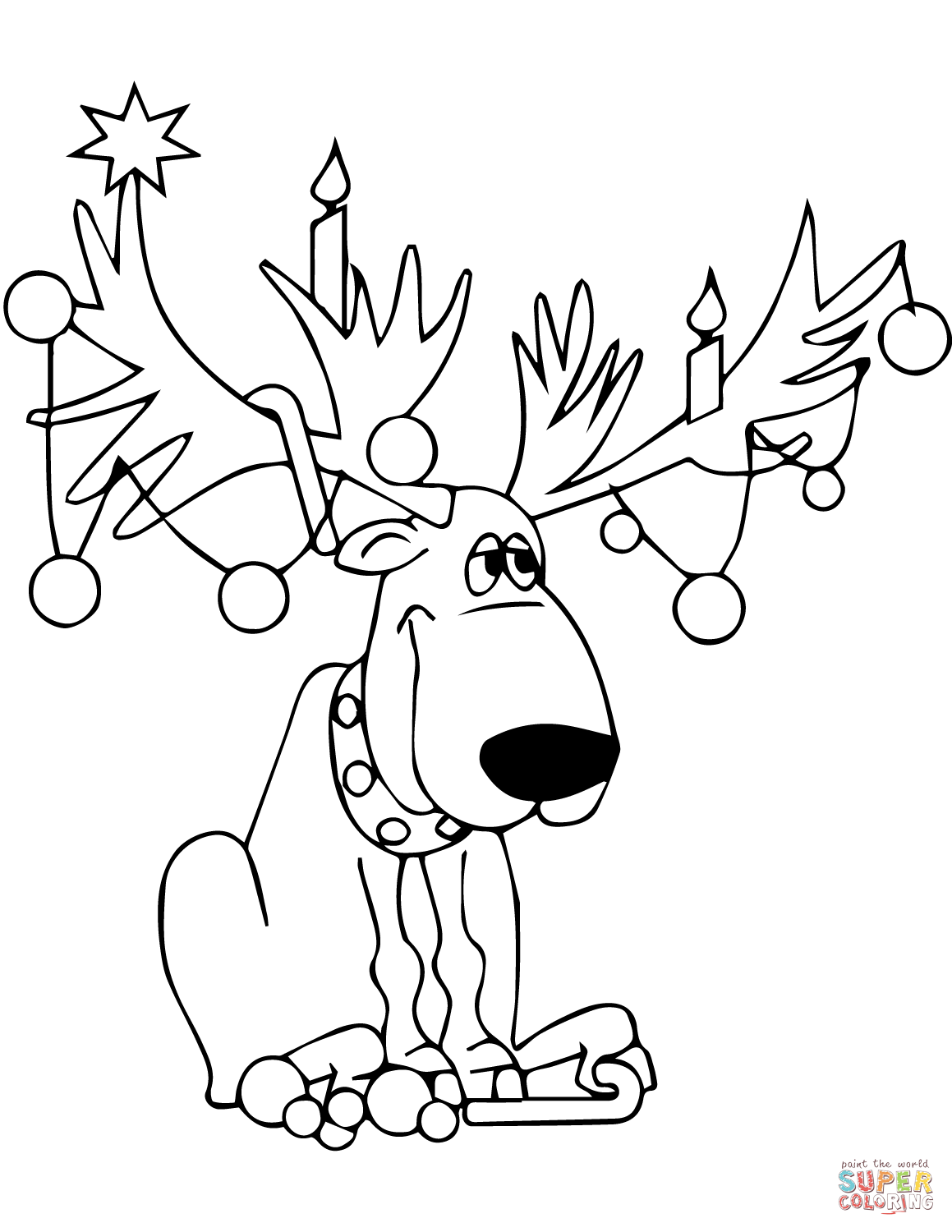 how to draw a reindeer face how to draw clarice the reindeer step by step christmas how to a reindeer face draw